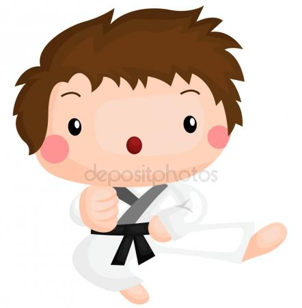 442x450 Taekwondo Kids Stock Vectors, Royalty Free Taekwondo Kids