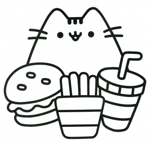301x300 Coloring Pages Decorative Kawaii Coloring Page Pages Kawaii