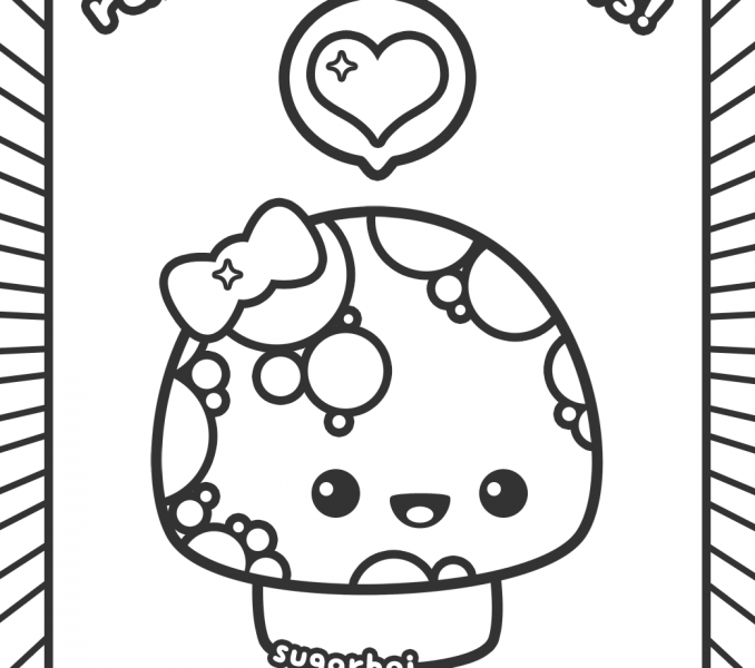 678x600 Kawaii Coloring Pages Best Coloring Pages