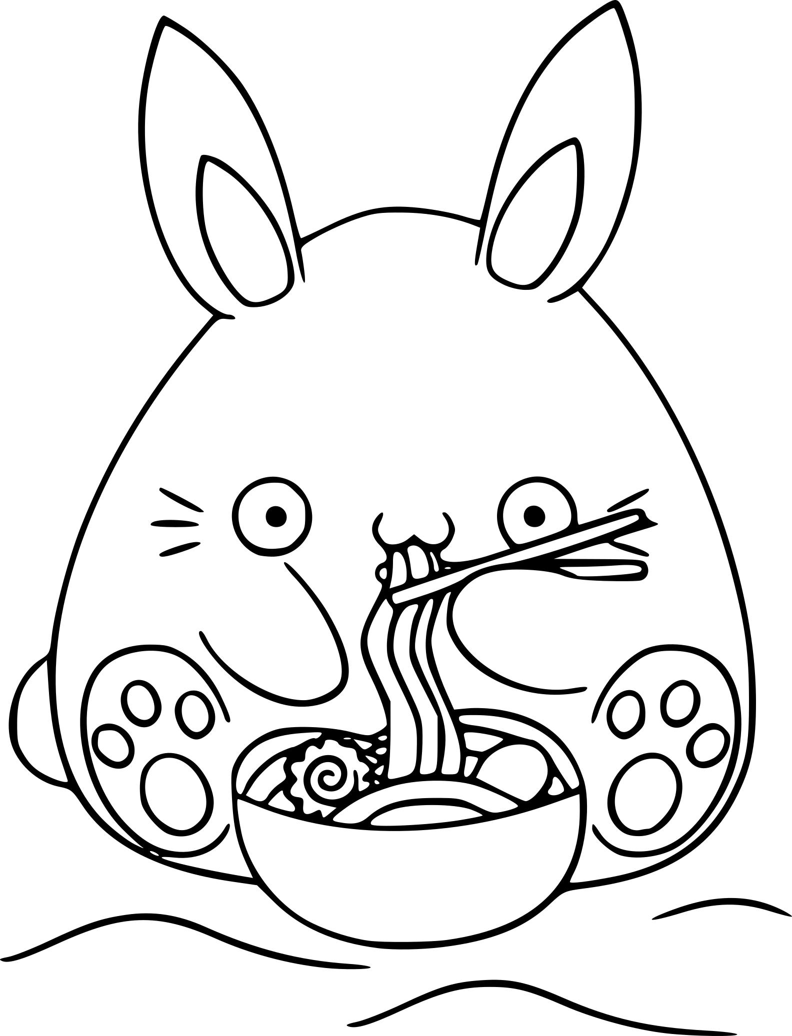 1584x2073 Kawaii Coloring Pages Bunny