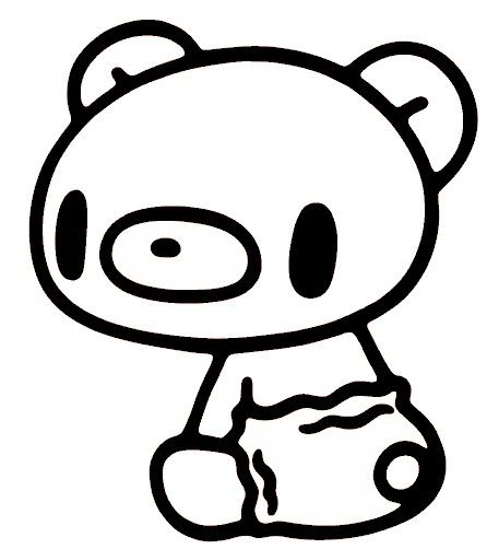 446x502 Kawaii Coloring Pages Teddy Bear