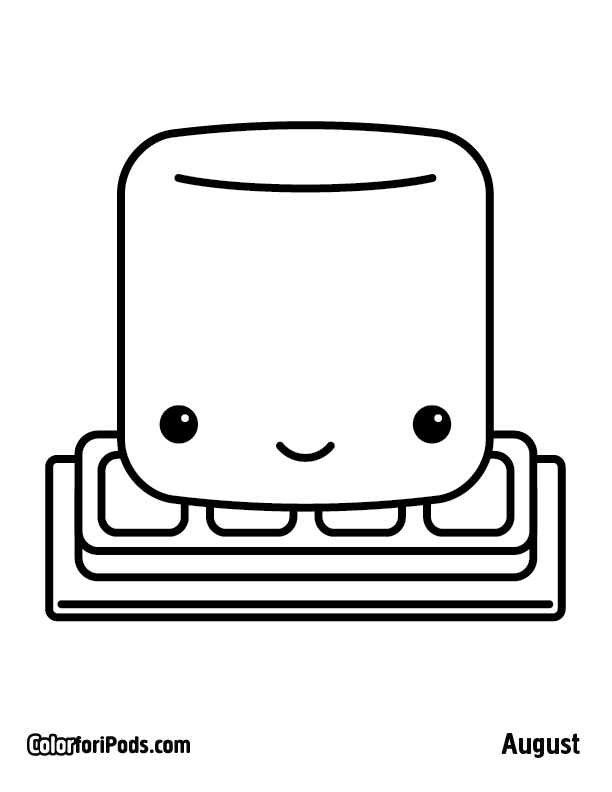 612x792 Kawaii Coloring Pages To Download And Print For Free Clip Art