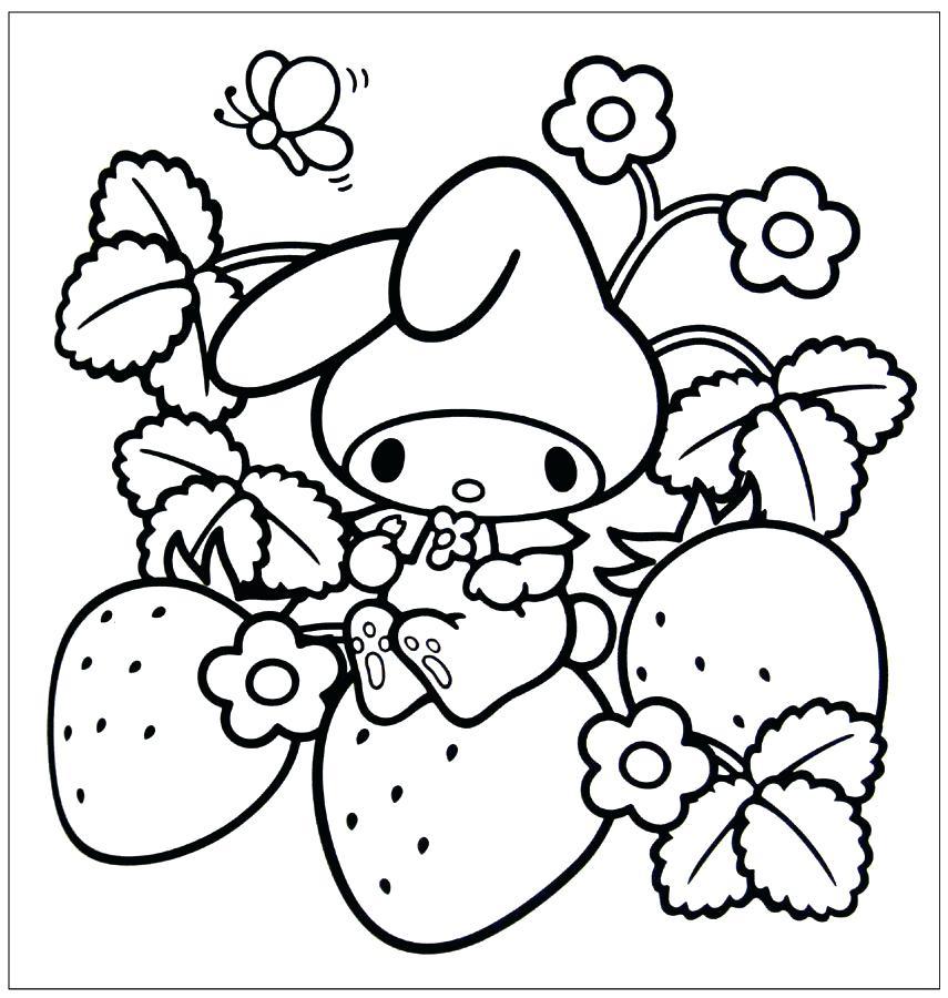 855x900 Kawaii Coloring Pages