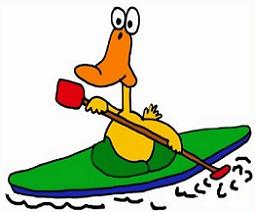 255x212 Free Kayak Clipart