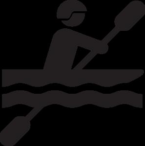 297x299 Kayak Clip Art