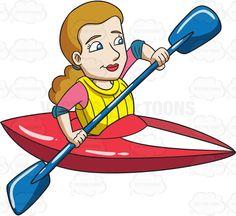 236x216 A Man Paddling A Kayak Res Life
