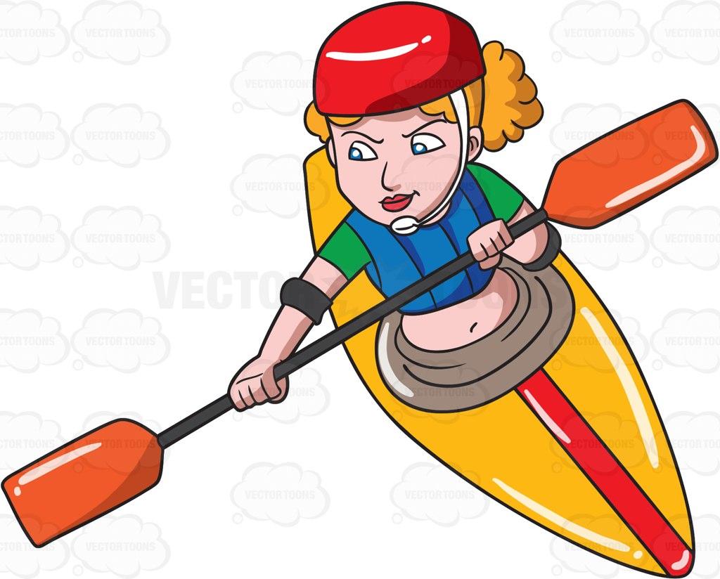 1024x824 Kayak Clipart Cartoon