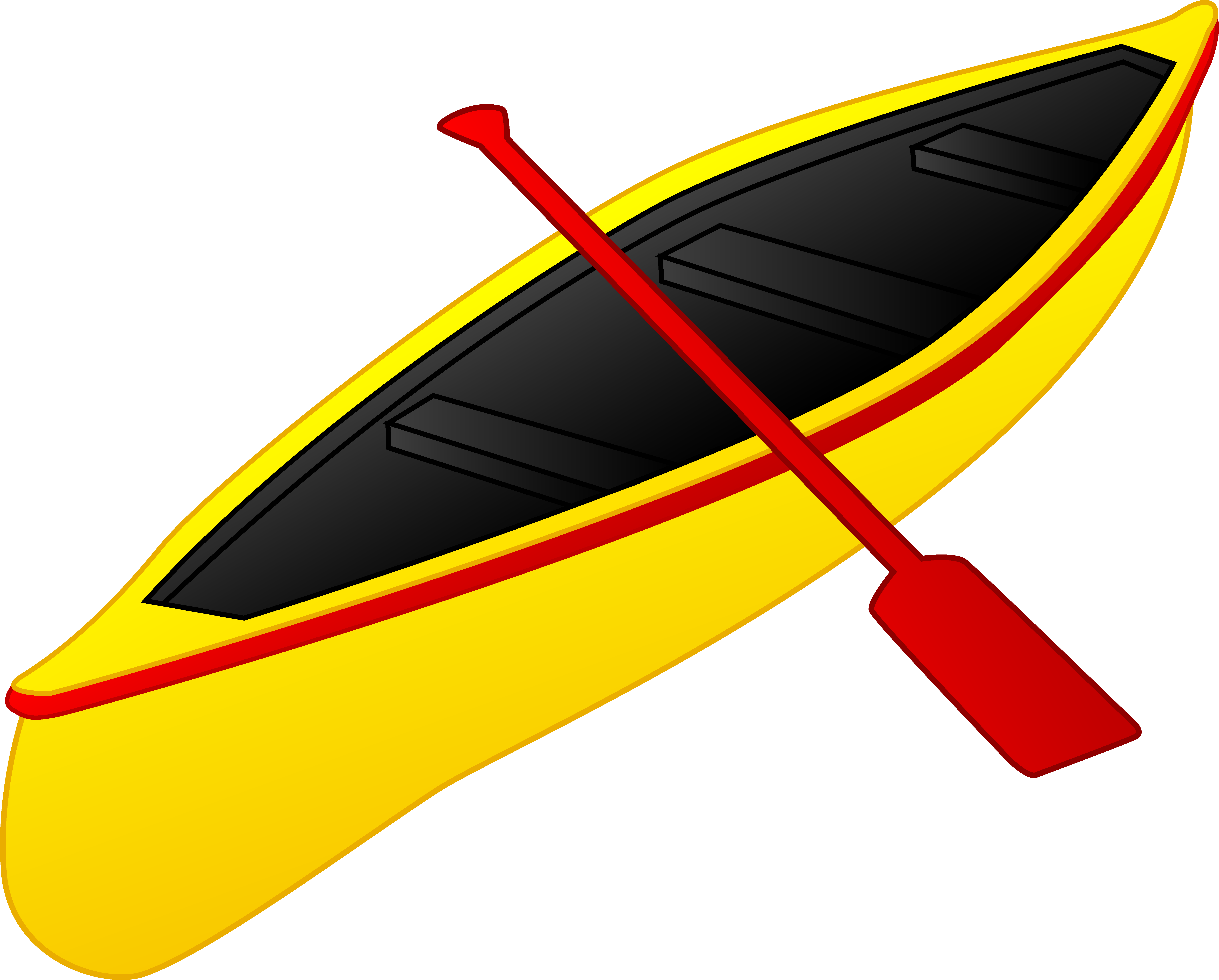 7144x5744 Yellow And Red Canoe