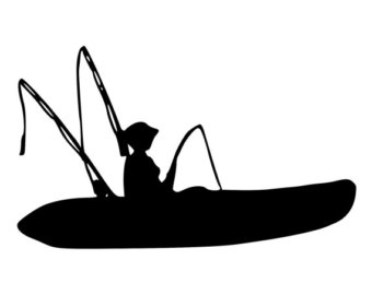340x270 Fishing Boat Clipart Kayak Fishing
