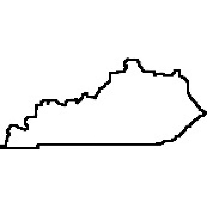 700x700 Kentucky Outline Clip Art (10+)
