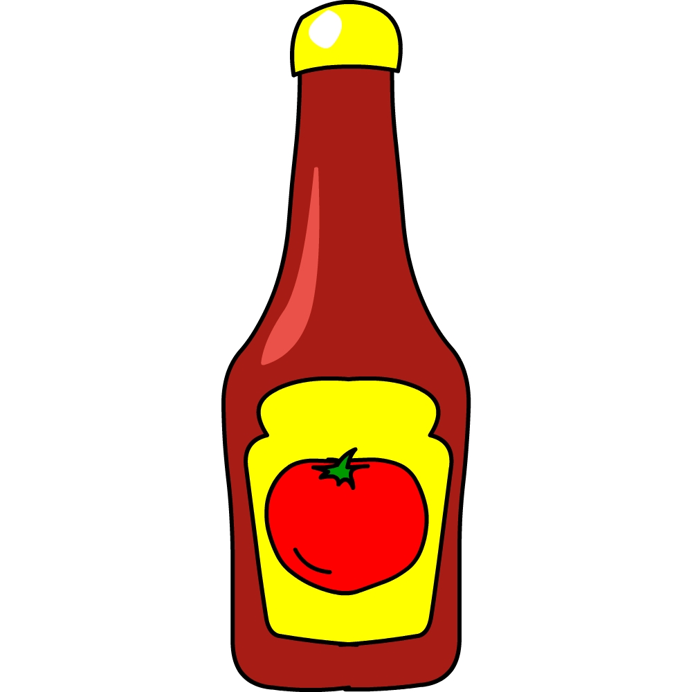 1000x1000 Ketchup Clipart Tomato Sauce