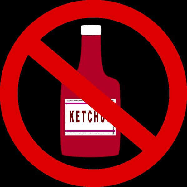 600x600 Ketchup Forbidden Png Clip Arts For Web