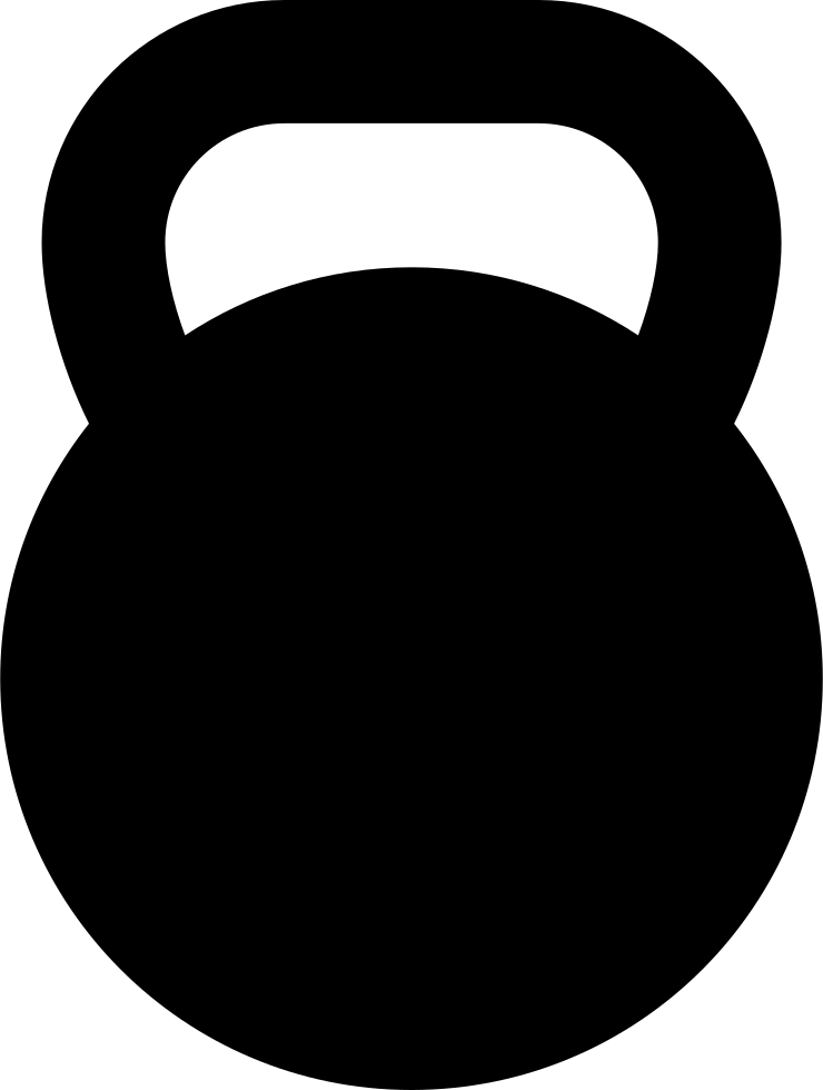 740x980 Kettlebell Svg Png Icon Free Download ( 265080)