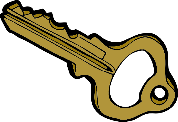 600x412 Key Clip Art