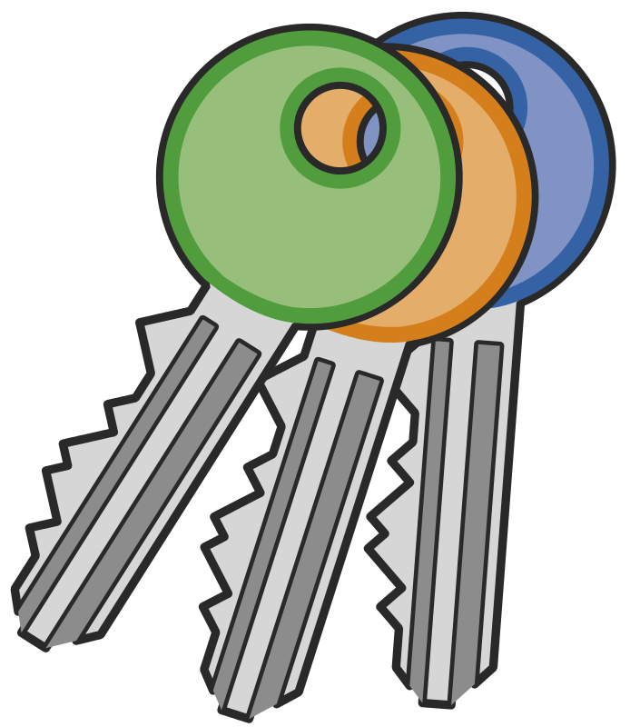 694x800 Key Clip Art Free Clipart Images 4