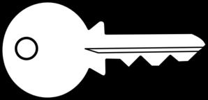 298x144 Key Black And White Key Clip Art Black And White Free Clipart