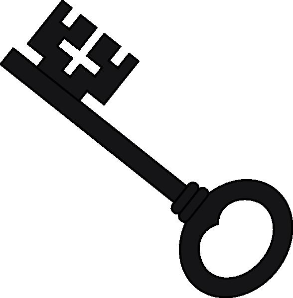 588x599 Key Black And White Vintage Key Clipart Black And White 3