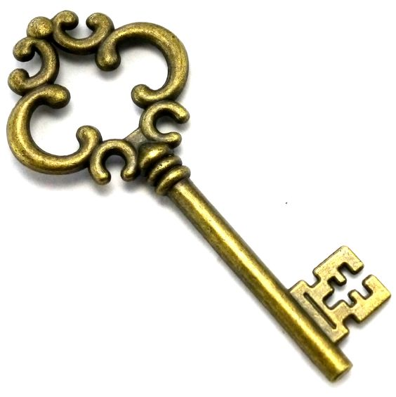 564x565 Vintage Old Key Classic To Lock The Doors Clipart Free Clip Art