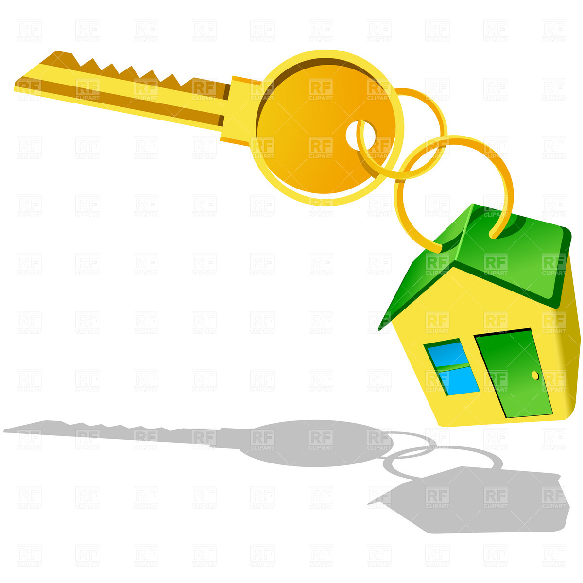 1200x1200 House With Key Icon Royalty Free Vector Clip Art Image