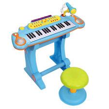 225x225 Homcom 37 Key Keyboard Electronic Piano Kids Microphone Stool Ebay