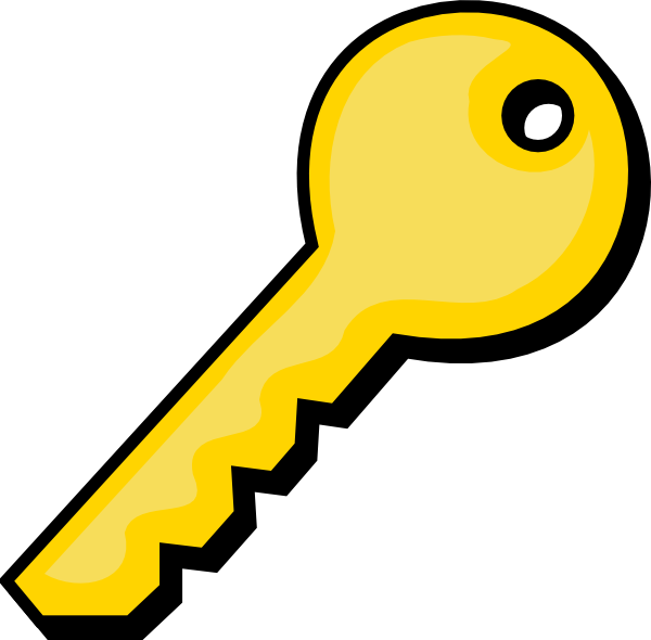600x590 Key Clip Art For Kids Free Clipart Images