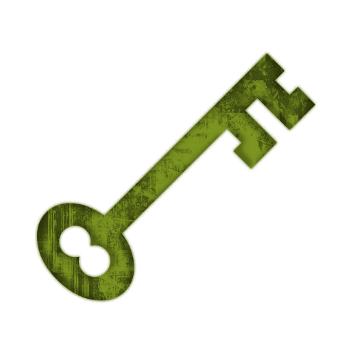 512x512 Simple Traditional Skeleton Key (Keys) Icon