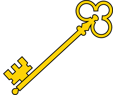 453x380 Skeleton Key Clipart Collection