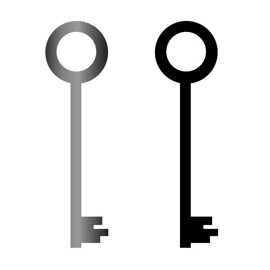 900x900 Key Icons Free Vector 123freevectors