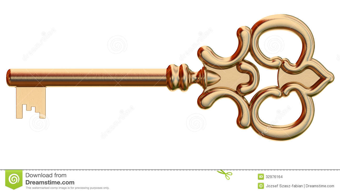 1300x740 Key Clipart Old Gold