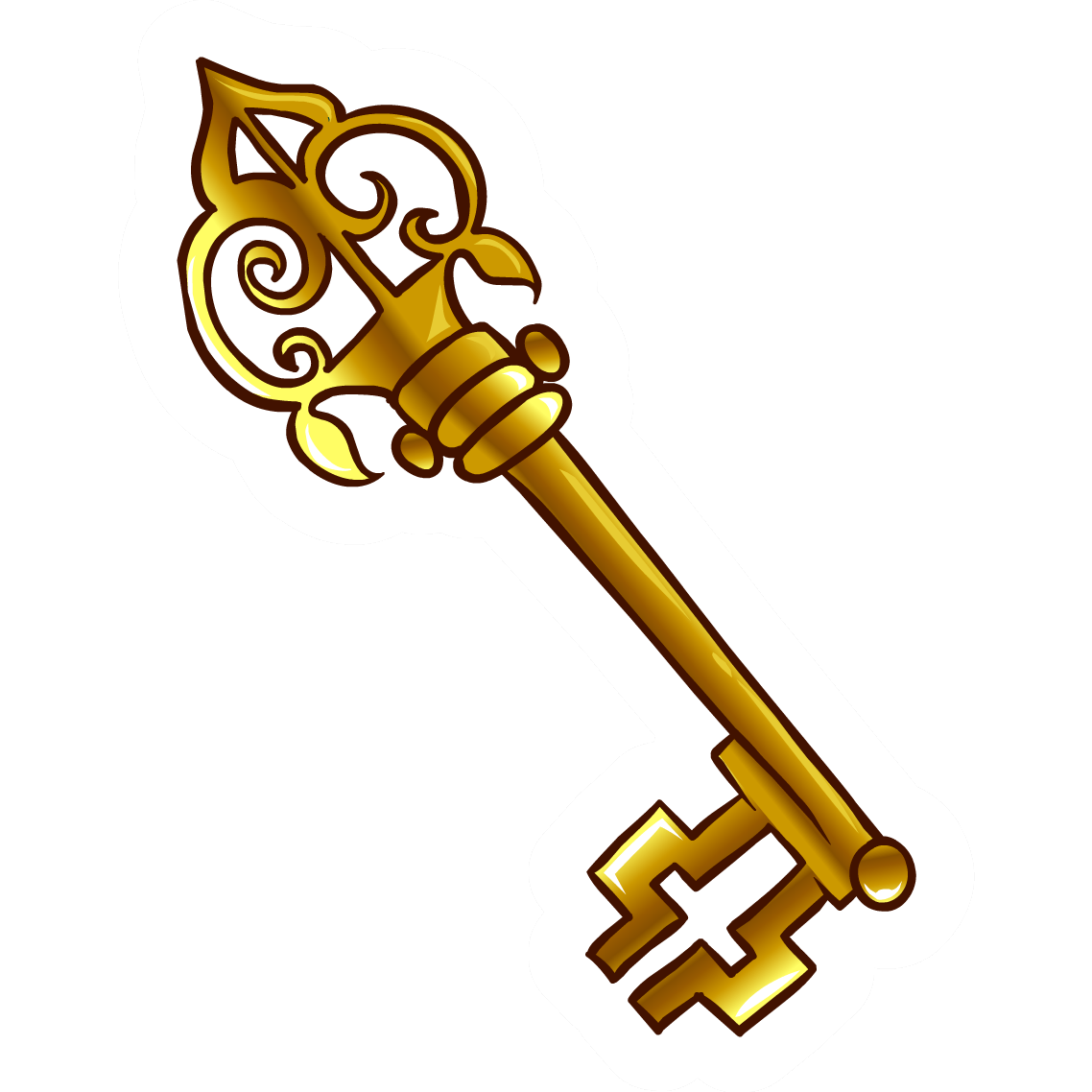 1138x1138 Old Key Pin Club Penguin Wiki Fandom Powered By Wikia