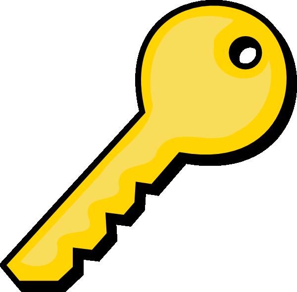600x590 Free Key Clipart