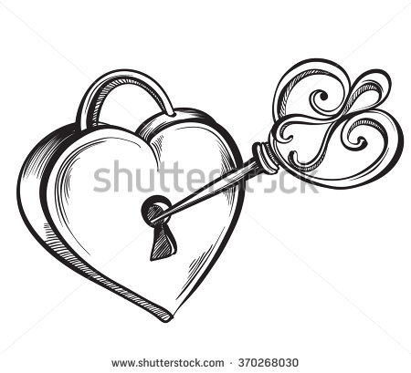 450x409 Heart Lock And Key Pictures