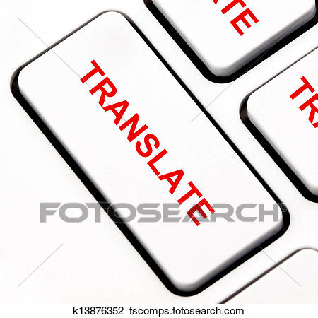 450x450 Clip Art Of Translate Keyboard Key K13876352