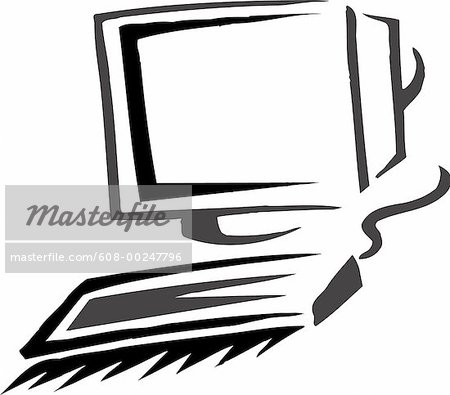 450x395 Computer Keyboard Black And White Clipart