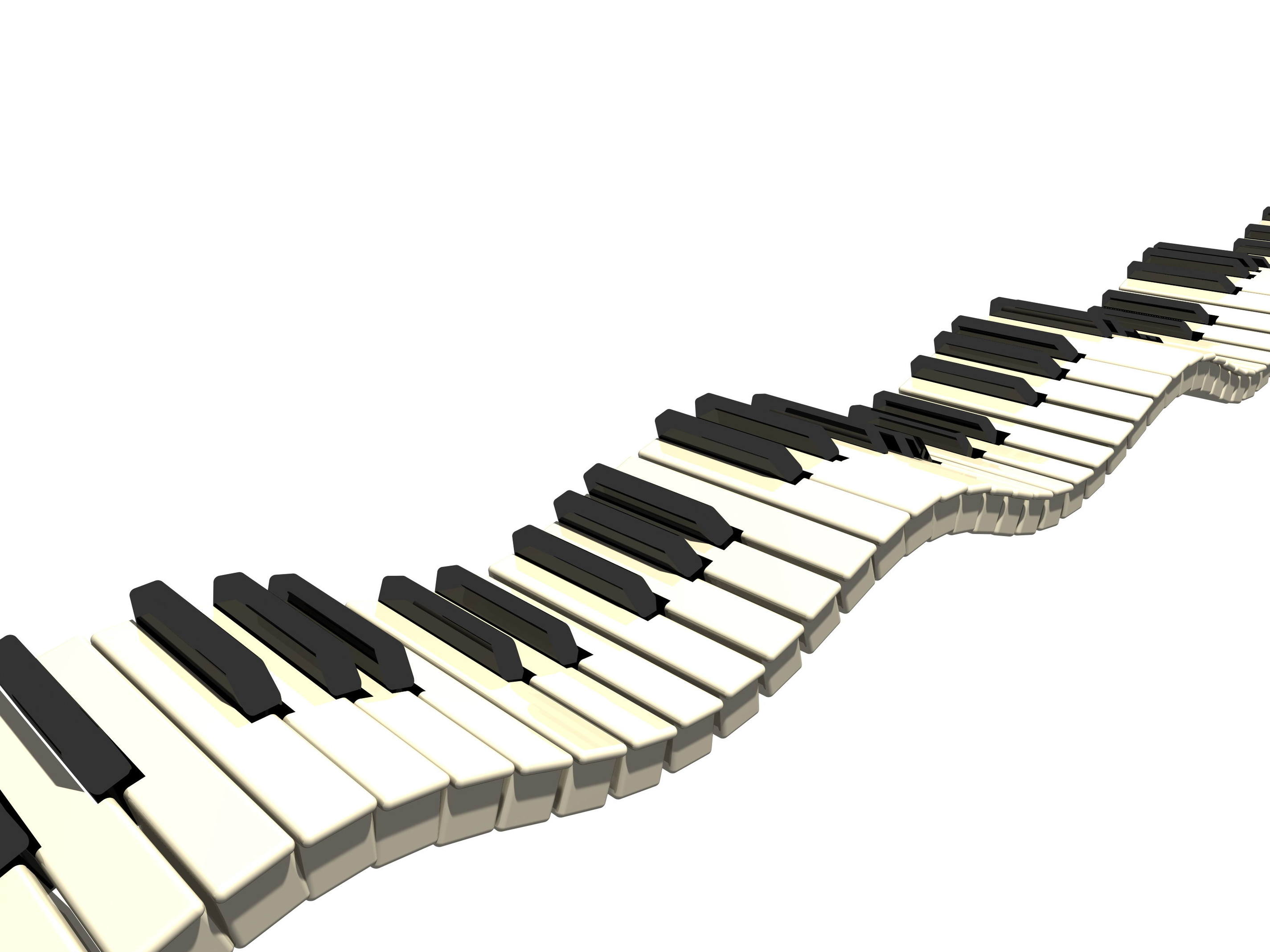 2850x2138 Piano Keys Clipart No Royalty