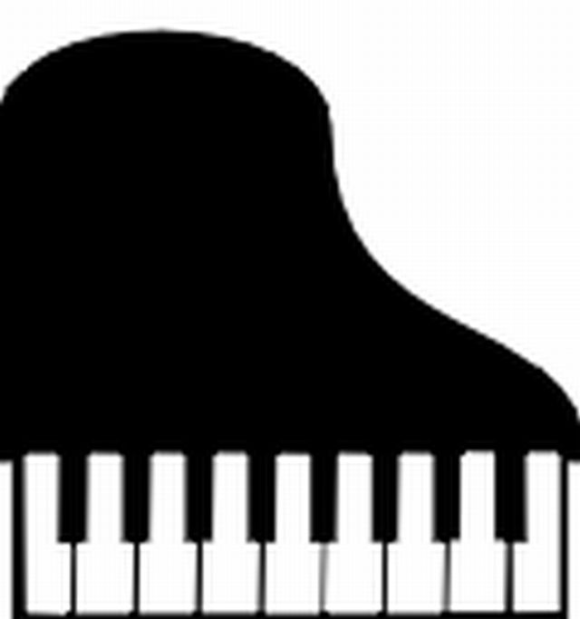 640x683 Top View Organ Piano Keyboard Clipart
