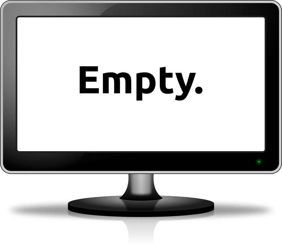 900x783 Computer Screen And Keyboard Clipart