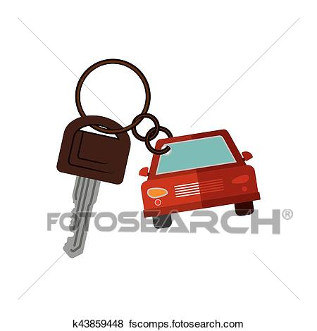 450x470 Key Chain Clip Art Eps Images. 1,444 Key Chain Clipart Vector