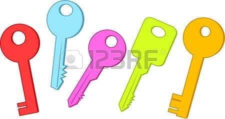 450x239 Five Clipart Key