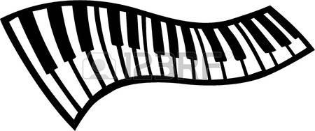450x188 Key Clipart Piano