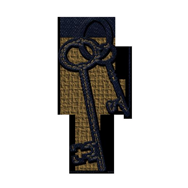 600x600 Skeleton Key Clipart