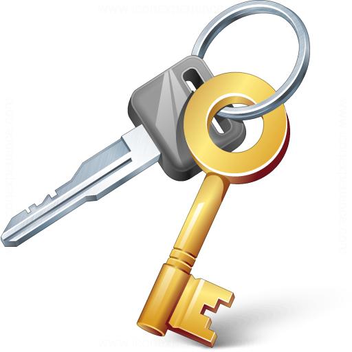 512x512 Iconexperience V Collection Keys Icon