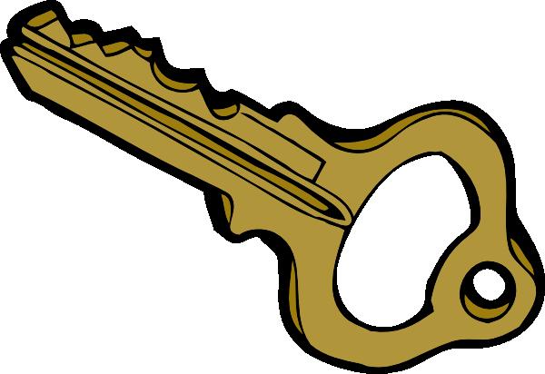 600x412 Key Clipart