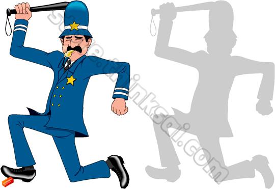 540x371 Keystone Cops Clipart