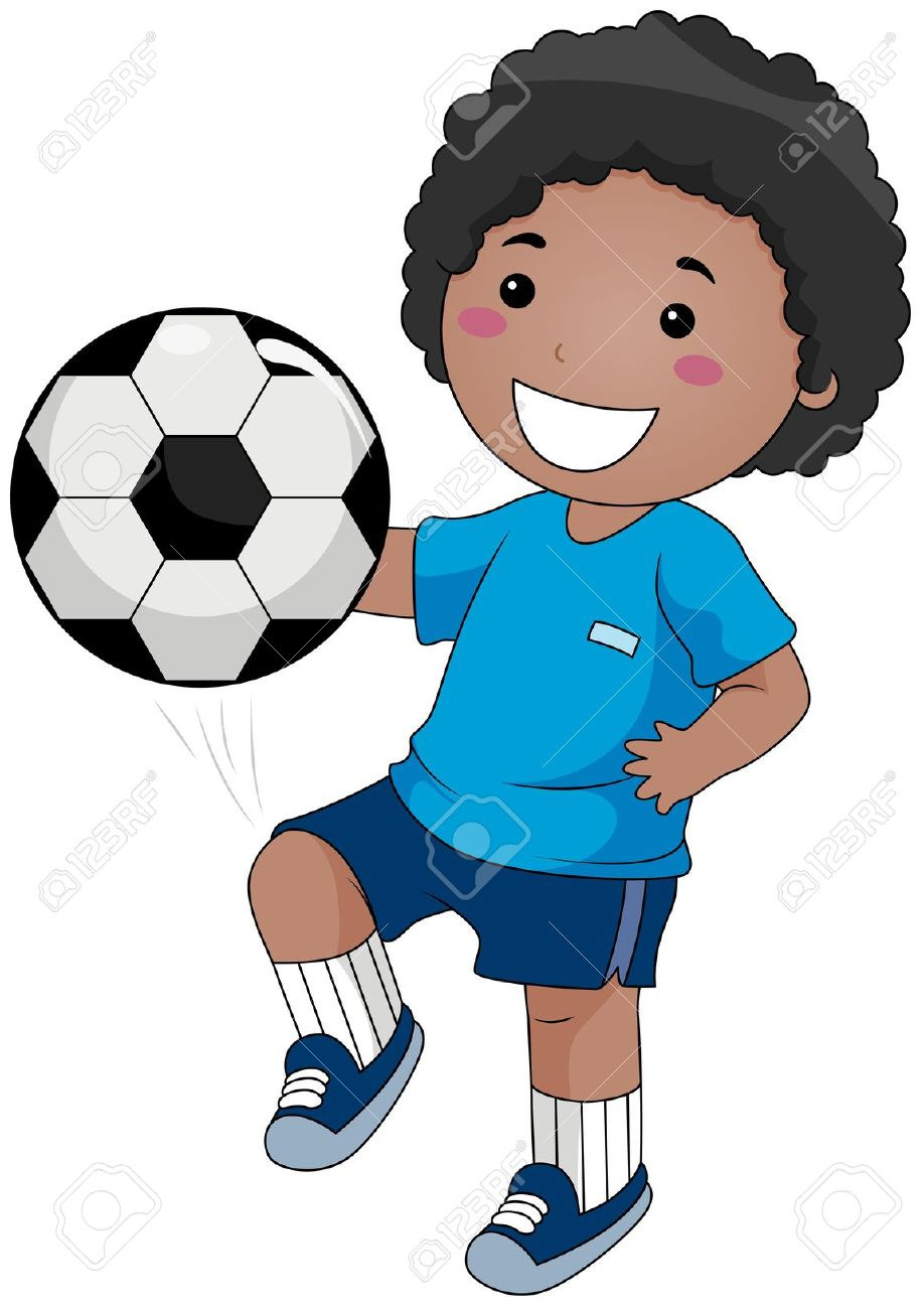 918x1300 Boys Playing Soccer Clip Art Clipart
