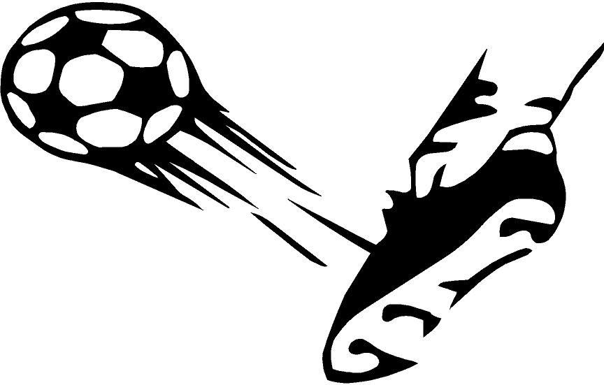 864x551 Shoe Clipart Soccer Ball