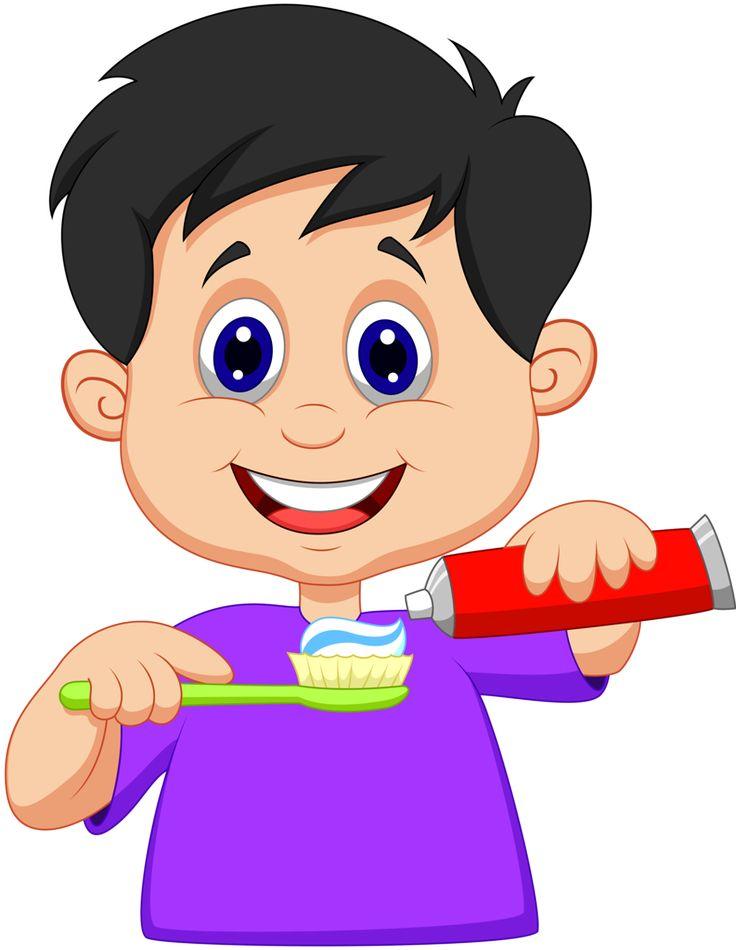 736x950 Brush Clipart Boy