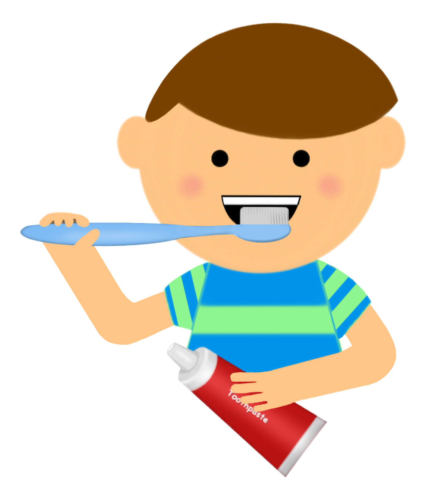 1449x1600 Child Clipart Brush Tooth