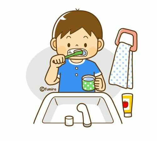 500x451 Best Brush Teeth Clipart Ideas Tooth Clipart