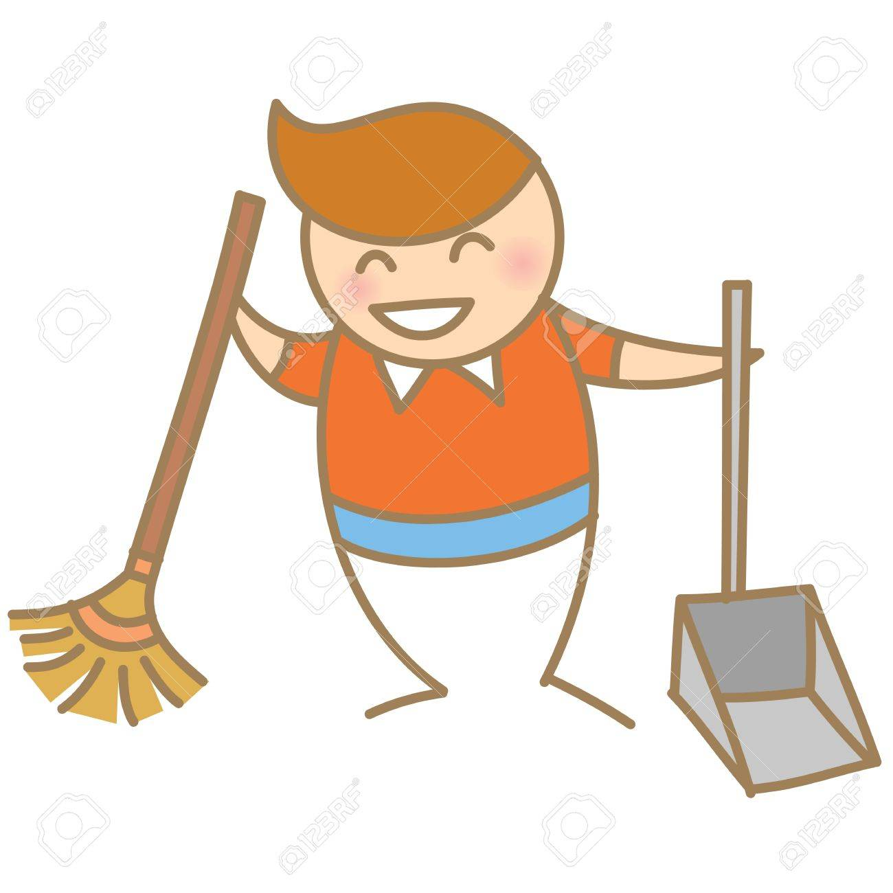 1300x1300 Kid Help Cleaning Royalty Free Cliparts, Vectors, And Stock